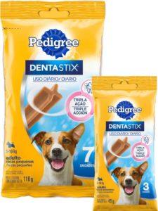 Pedigree - DENTASTIX - raças pequenas - 3 e 7 unidades