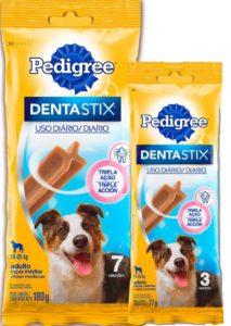 Pedigree - DENTASTIX - raças médias - 3 e 7 unidades