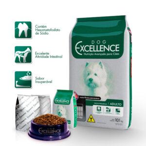 Ração Dog Excellence Cães Adultos Raças Pequenas 10.1kg